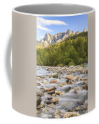 Creek And Castle Crags Coffee Mug