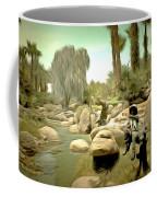 Creek At Jackalope Ranch Palm Springs Coffee Mug