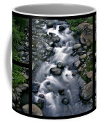 Creek Flow Polyptych Coffee Mug