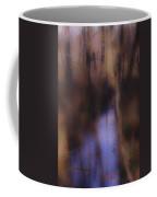 Creek In The Autumn Mist  Coffee Mug
