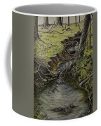 Creek  Coffee Mug by Janet Felts