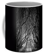 Creepy Dark Hedges Coffee Mug