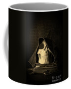 Creepy Hooded Skull Coffee Mug