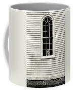 Creepy Victorian Girl Looking Out Window Coffee Mug