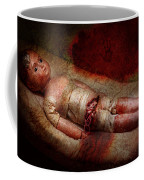 Creepy - Weird - No One Ever Suspected  Coffee Mug by Mike Savad