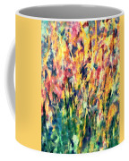 Crescendo Of Spring Abstract Coffee Mug