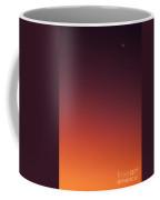 Crescent Moon In Sunset Sky Coffee Mug