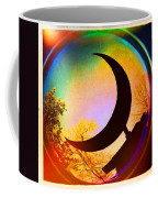 Crescent Moon Over Eureka Springs Coffee Mug by Garry McMichael