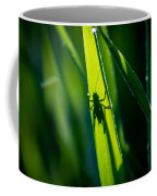 Cricket Silhouette Coffee Mug