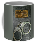 Crime Scene Investigation Coffee Mug by Paul Ward
