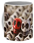 Crimson And Cream Coffee Mug