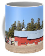 Crimson Barn Coffee Mug