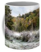 Crisp Morning Frost Hillside Landscape Coffee Mug