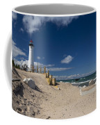 Crisp Point Lighthouse 17 Coffee Mug