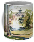 Crisp Water Fountain At The Baptist Home  Coffee Mug by Kip DeVore