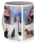 Christmas Decoration - Gently Cross Your Eyes And Focus On The Middle Image Coffee Mug