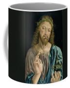Cristo Salvator Mundi, C.1490-94 Coffee Mug