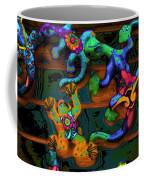 Critters Climbing Walls On Venus Coffee Mug