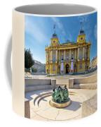 Croatian Nationa Theater In Zagreb Coffee Mug