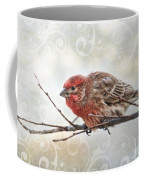Croching Finch Coffee Mug