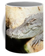 Crocodile Fractal Coffee Mug