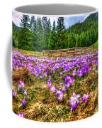 Crocus Flower Valley Coffee Mug