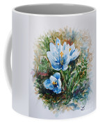 Crocuses Coffee Mug