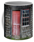 Crooked Red Door Coffee Mug