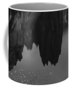 Crooked River Reflection Bw Coffee Mug