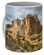 Crooked River Towers Coffee Mug
