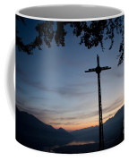 Cross On The Mountain Coffee Mug