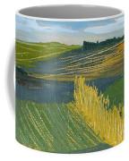 Crop Fields Coffee Mug by Erin Fickert-Rowland