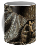 Cross And Feet Coffee Mug