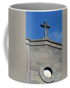 Religious Art Cross Architectural Coffee Mug