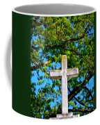 Cross At The Monastery Of The Holy Spirit Coffee Mug