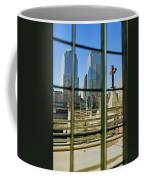 Cross At World Trade Towers Memorial Coffee Mug