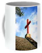 Cross Church Roof Coffee Mug