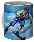Cross Country Skier Coffee Mug