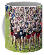 Cross County Race Coffee Mug