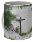 Cross In The Dunes Coffee Mug