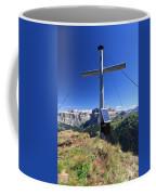 cross on Crepa Neigra peak Coffee Mug