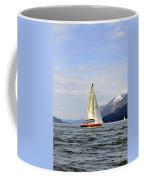 Cross Sound Sailboat Coffee Mug