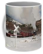 Crossbucks And Steam Coffee Mug