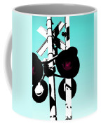Crossed Coffee Mug