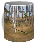 Crossed Trees Coffee Mug