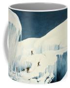 Crossing A Ravine, From A Narrative Coffee Mug