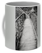 Crossing Over - Black And White Coffee Mug