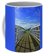 Crossing Over Bridge Coffee Mug