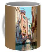 Crossing The Canal Coffee Mug by Jeff Kolker