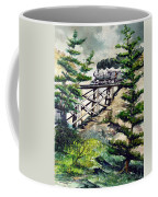 Crossing The Gap Coffee Mug